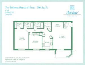 2 Bedroom - Front
