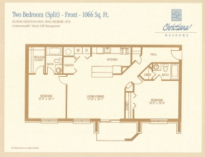 2 Bedroom Split - Front